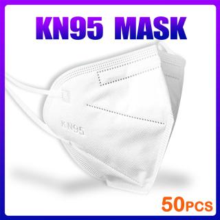 ZOCN 50PCS 5 Ply Kn 95 Mặt nạ có thể rửa được pm2.5 Có thể tái sử dụng Bảo vệ Mặt Bảo vệ Mặt nạ ngăn ngừa Phim hoạt hình kn955 n955 thumbnail