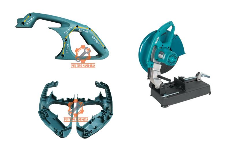 Tay cắt sắt cong dùng chung cho nhiều loại máy cắt sắt 350mm