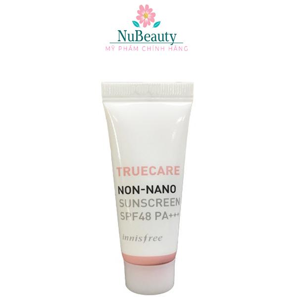 🌺 CHÍNH HÃNG 🌺(Mini size) Kem chống nắng Innisfree Truecare Non Nano Sunscreen SPF48 PA+++ 🌺 FREE SHIP TOÀN QUỐC 🌺