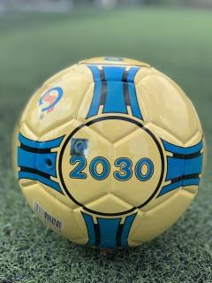 Quả bóng đá sân Futsal và cỏ nhân tạo Geru Star 2030 - da PU dán Số 4 - Tặng kim bơm và lưới đựng bóng thumbnail
