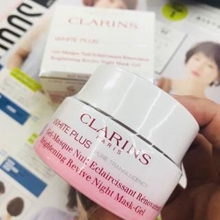 Mặt nạ làm sáng da ban đêm dạng gel Clarins White Plus Pure Translucency Brightening Rivive Mask-Gel thumbnail