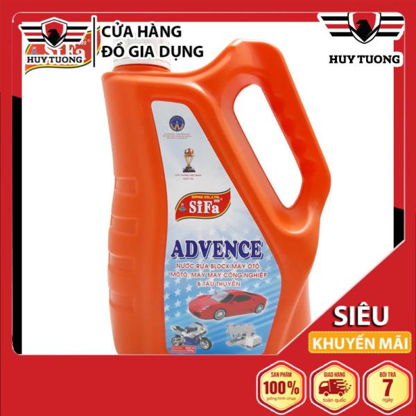 Nước tẩy rửa Block ( lốc ) máy ô tô, moto, máy may công nghiệp, tàu thuyền Sifa 999 ( 2000ml ) cao cấp - Trung Kiên
