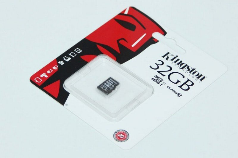 Thẻ Nhớ Micro SDHC Kingston 32GB Class10 tốc độ đoc 100mbs (Không có Adapter) - BH chính hãng 60 tháng tem SPC/FPT
