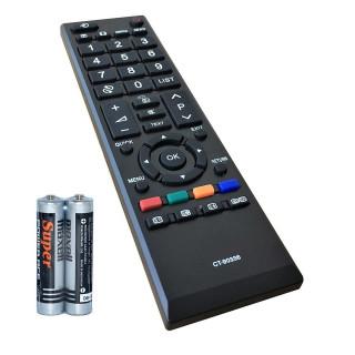 Remote Điều Khiển Cho TV LCD, TV LED TOSHIBA CT-90336 GRADE A+ (Kèm Pin AAA Maxell) 1