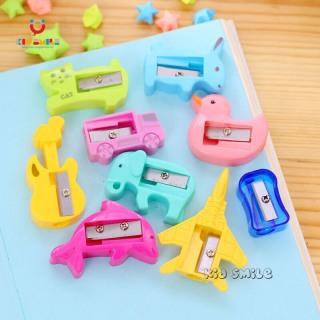 Đồ dùng học tập trẻ em gọt bút chì các hình con vật, phương tiện giao thông. Thiết kế ngộ nghĩnh, dễ thương chất liệu nhựa bền đẹp. 4
