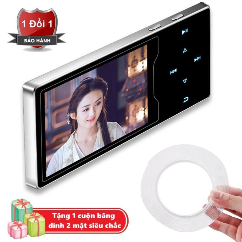 Máy nghe nhạc Ruizu D08 cao cấp màn hình HD 2.4 inch Tặng kèm Băng dính 2 mặt trong suốt đa năng