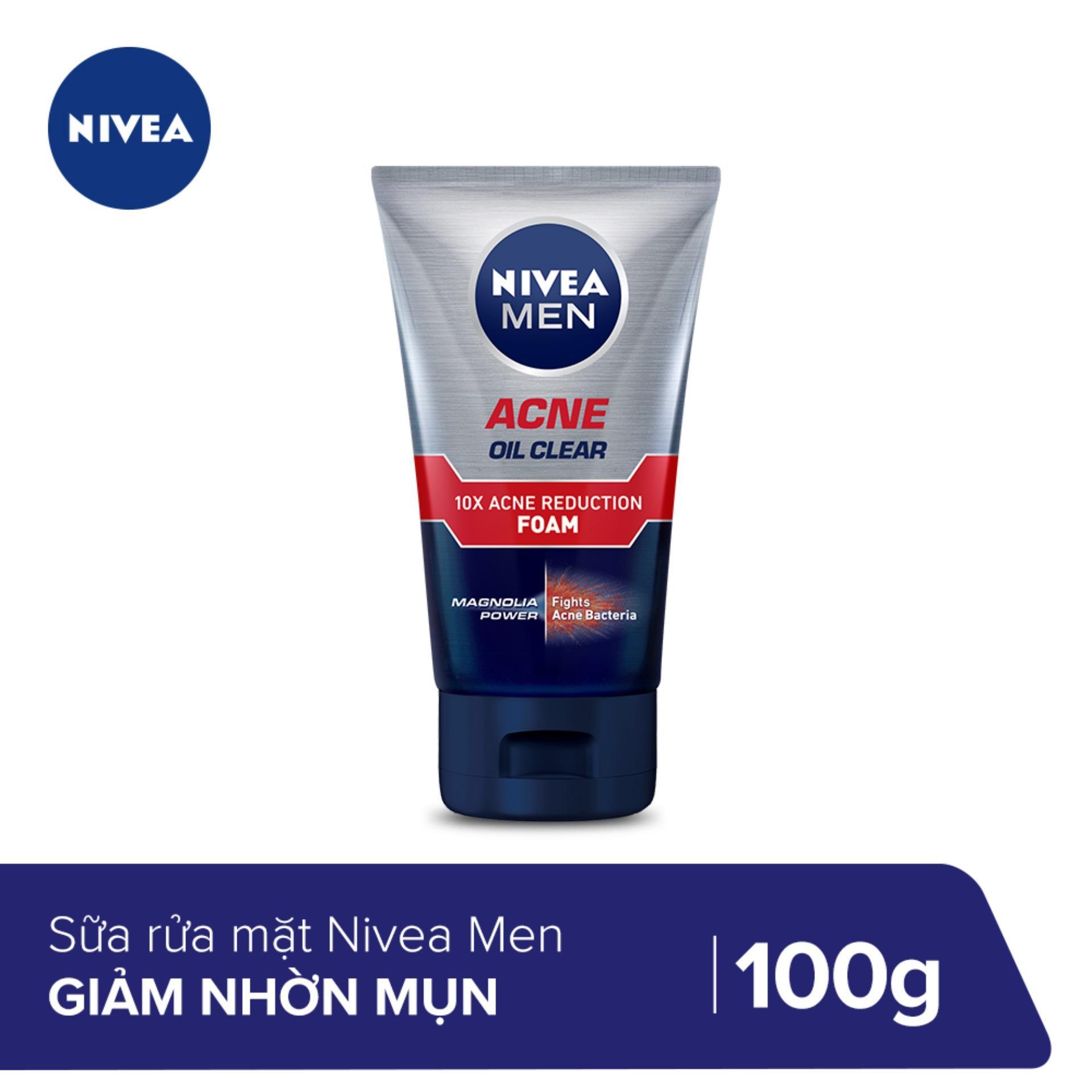 Sữa rửa mặt Nivea men giúp giảm nhờn mụn 100g_82378