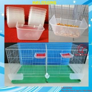 Máng ăn nhựa chống vãi đơn cho chim , gà PK37 thumbnail