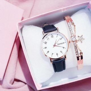 Đồng hồ thời trang nữ Candycat mặt số dây nhung MS8743 thumbnail