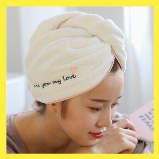 Mũ quấn ủ tóc nhanh khô thấm hút cute tặng kèm túi zip dq8 thumbnail
