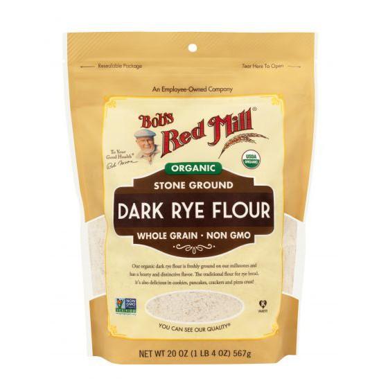 BỘT MÌ ĐEN HỮU CƠ (Organic Dark Rye Flour) - BOB'S RED MILL
