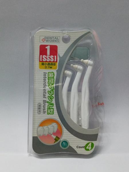 Bàn chải kẽ răng DW-XD02 dạng chữ L
