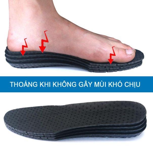 01 cặp Lót giày sneaker nam nữ, lót giày thể thao êm nhẹ thoáng bền đẹp ZATA - ZTX01 giá rẻ