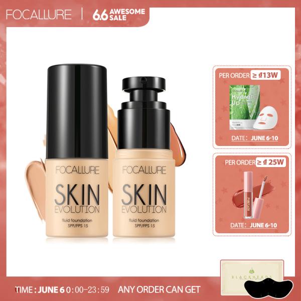 Kem nền BB dạng lỏng Focallure giúp che khuyết điểm làm sáng tông da giữ màu lâu trôi suốt 24 giờ - INTL