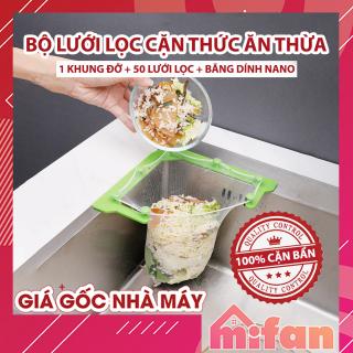 Giá Lưới Lọc Thức Ăn Thừa - Lọc Rác Bồn Rửa Chén Bát - Khung nhựa ABS chất lượng cao - MIFAN thumbnail