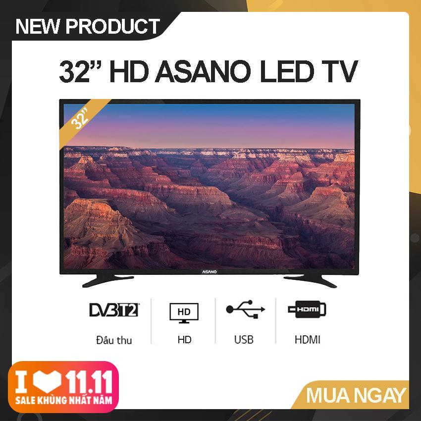 Bảng giá Tivi Led Asano 32 inch HD - Model 32EK1 (Đen) Độ phân giải HD Ready, Tích hợp DVB-T2 - Bảo Hành 2 Năm