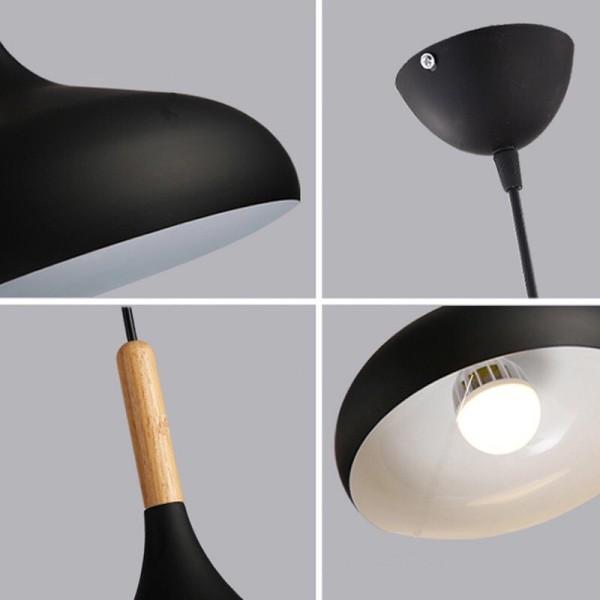 Bảng giá Đèn thả trần chao nhôm giọt nước đẹp 320mmm, thiết kế hiện đại, chất liệu bền bỉ, tiết kiệm điện năng, an toàn khi sử dụng