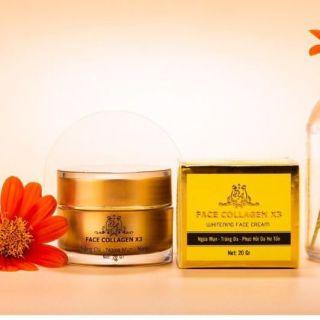 Kem Face Collagen X3 hết mụn mờ thâm ngừa nám hết tan nhang hiệu quả trong 7 ngày thumbnail