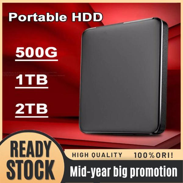 Bảng giá Ổ Đĩa Cứng Di Động Ngoài Tốc Độ Cao WD 500GB/1TB/2TB 2.5Inch USB 3.0 Phong Vũ