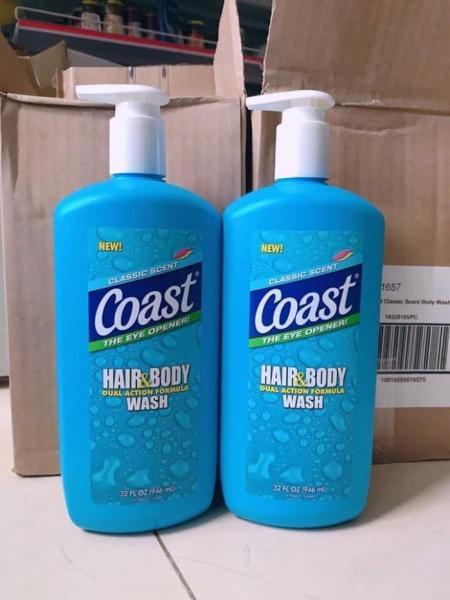 Sữa tắm - gội Coast 946ml Mỹ