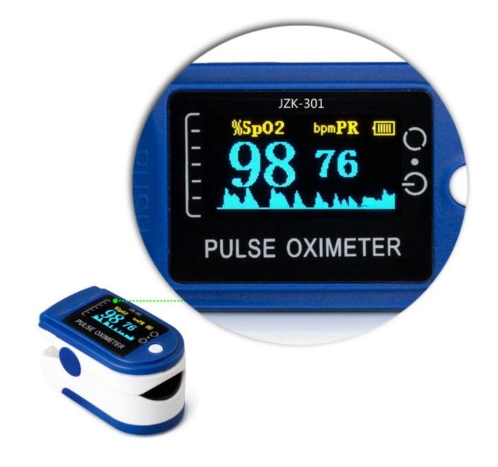 Máy đo spo2 kẹp ngón - Máy đo nồng độ oxy trong máu cầm tay cho kết quả đo nhanh và có độ chính xác