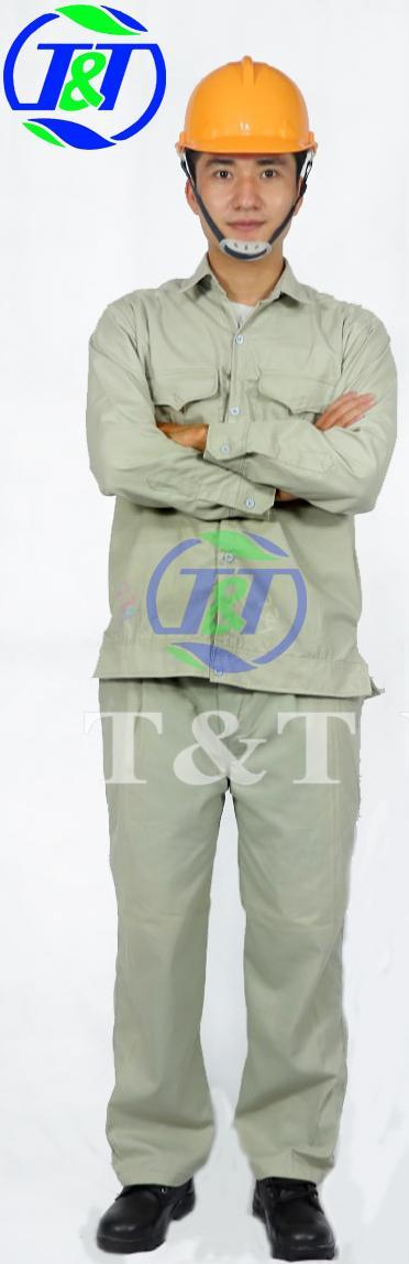 Quần áo bảo hộ ghi size L( số 7)