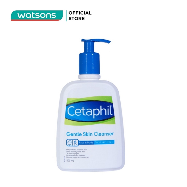 Sữa Rửa Mặt Cetaphil Gentle Skin Cleanser 500ml tốt nhất