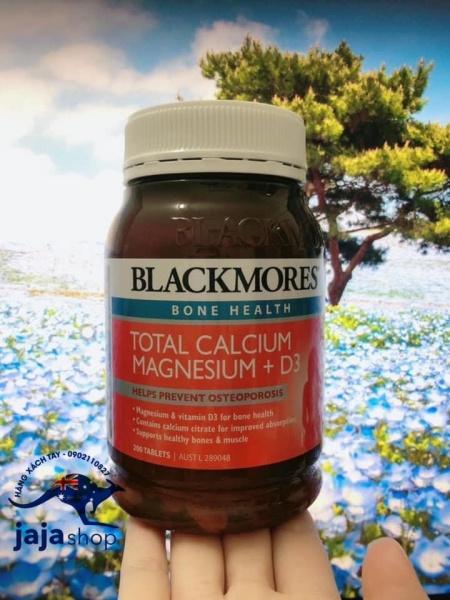 Blackmores Total Calcium & Magnesium + D3 - 200 viên
