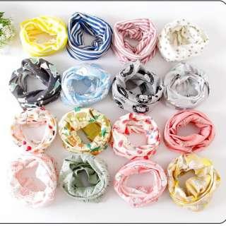 Khăn ống quấn cổ đa năng cotton giữ ấm cho bé phong cách Hàn Quốc