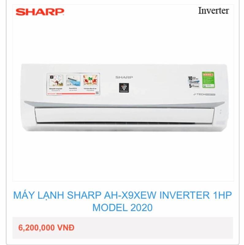 Bảng giá Máy Lạnh Sharp_AH-X9XEW INVERTER 1HP MODEL 2020