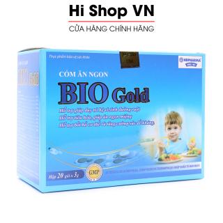 Cốm ăn ngon cho bé Bio Gold giúp ăn ngon, giảm tiêu chảy và táo bón - Hộp 20 gói thumbnail