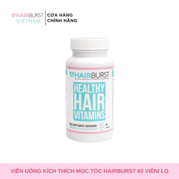 Viên uống HAIRBURST healthy hair vitamin dưỡng tóc chắc khỏe, kích thích mọc tóc lọ 60 gram/1 lọ giá rẻ