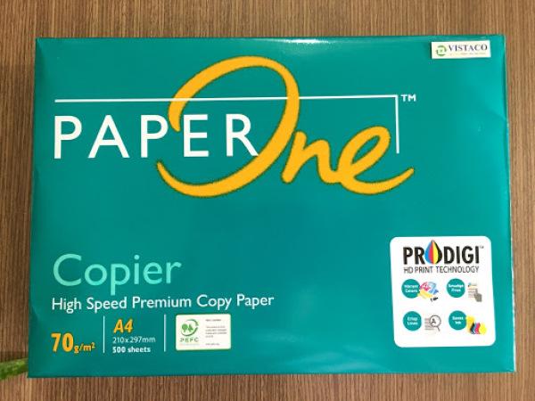Mua Giấy PAPER ONE A4 70gsm,cực dày,trắng mịn,1 ream 500 tờ