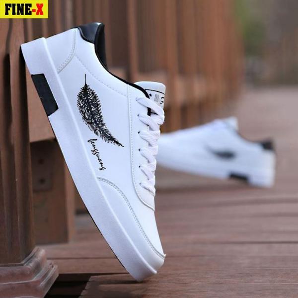Giày thể thao nam trắng FINE-X(FX05) - GIÁ CỰC SỐC