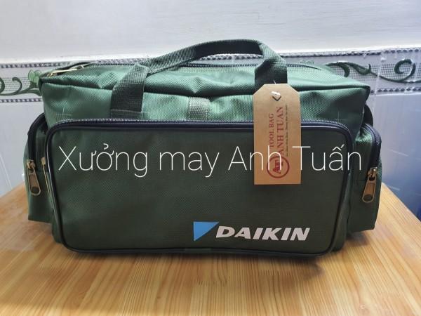 Túi đồ nghề - Daikin size lỡ Cao Cấp Khóa Đồng