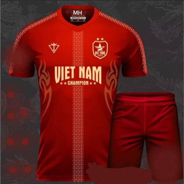 Bộ Quần Áo Thể Thao Bóng Đá Việt Nam màu đỏ