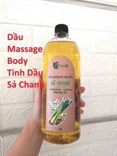 Dầu Massage Body Tinh Dầu Sả Chanh ACENA 1000ml thumbnail