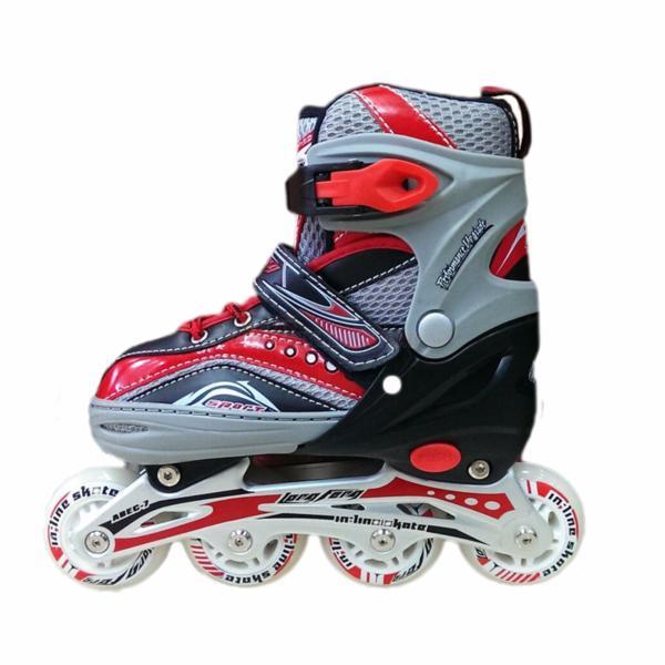 Giá bán [Lấy mã giảm thêm 30%]Giày Trượt Patin Trẻ Em Cao Cấp Long Feng 907 - Xanh Hồng Và Đỏ
