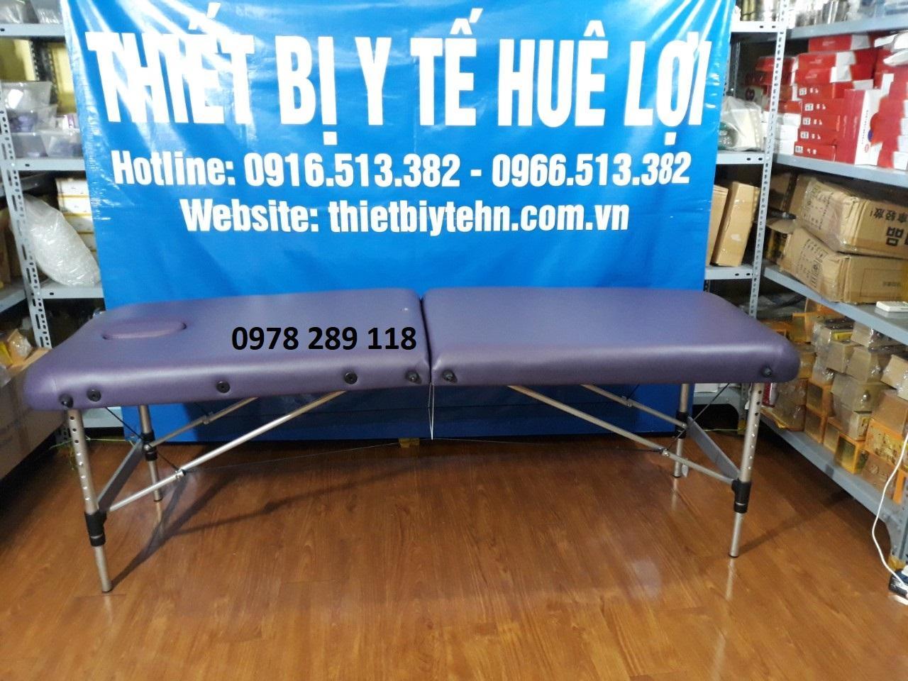 Giường vali di động (chân hợp kim nhôm) HL4 nhập khẩu