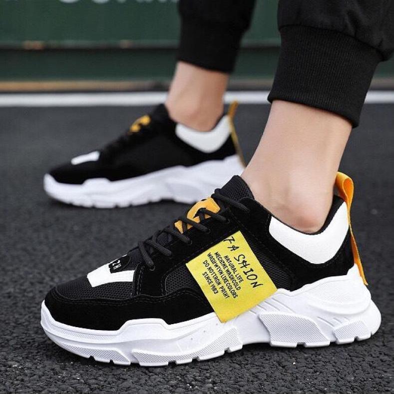 (Video Thật) Giày thể thao nam tăng 5cm chiều cao cực kì ngầu Sudoo đế tổng hợp êm chân kiểu dáng sang trọng lịch sự giá rẻ