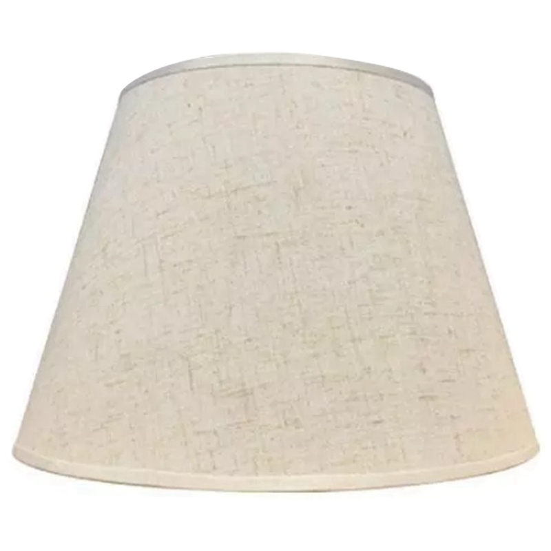 Table Lamp Lampshade Accessories E27 Linen Bedside Lamp Wall Lamp Floor Lamp Shade Cloth Lower Diameter 30cm