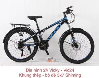 Xe đạp địa hình nam 24 inch VIC24 thumbnail