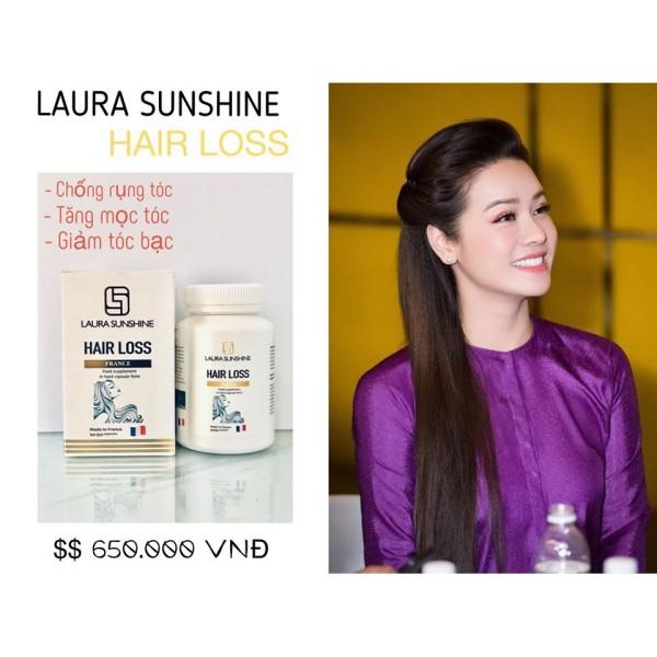 [Lấy mã giảm thêm 30%]Viên Uống Mọc Tóc Ngăn Ngừa Rụng Tóc Hair Loss Laura Sunshine