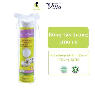 Bông tẩy trang hữu cơ Silver Care 80 miếng có chứng nhận hữu cơ - Dinh ViBa thumbnail