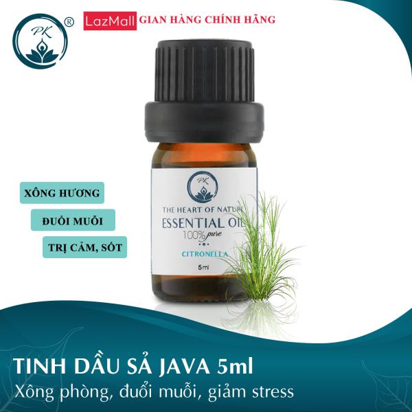 [GIÁ DÙNG THỬ] Tinh dầu Sả Java PK 5ml