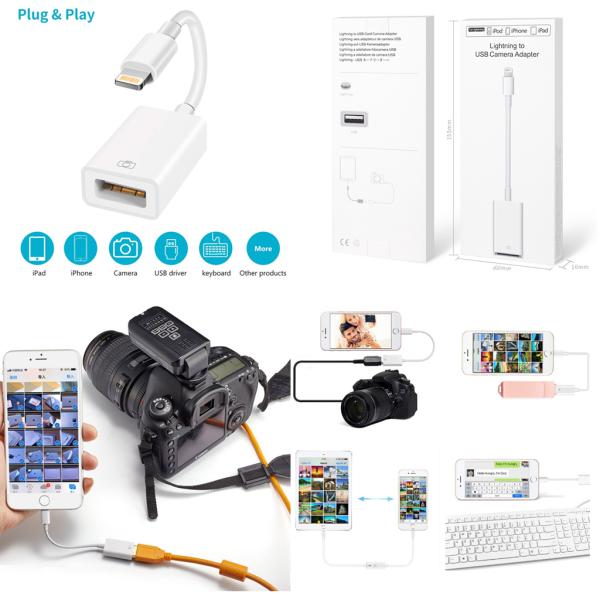 Bảng giá Đầu chuyển OTG lightning sang USB Phong Vũ