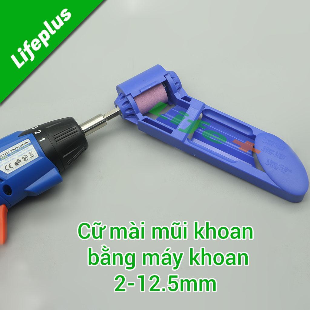 Cữ mài mũi khoan bằng máy khoan 2-12.5mm