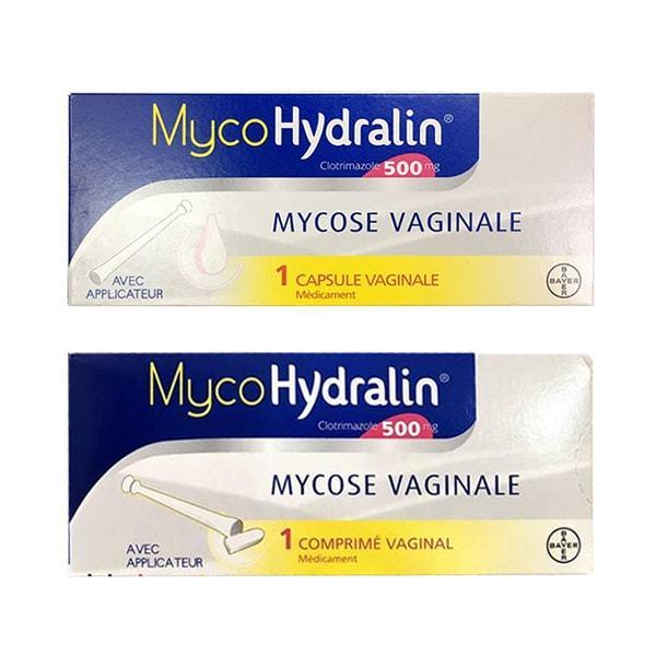 Viên đặt phụ khoa Mycohydralin 500mg của Pháp 1 liệu trình giá rẻ