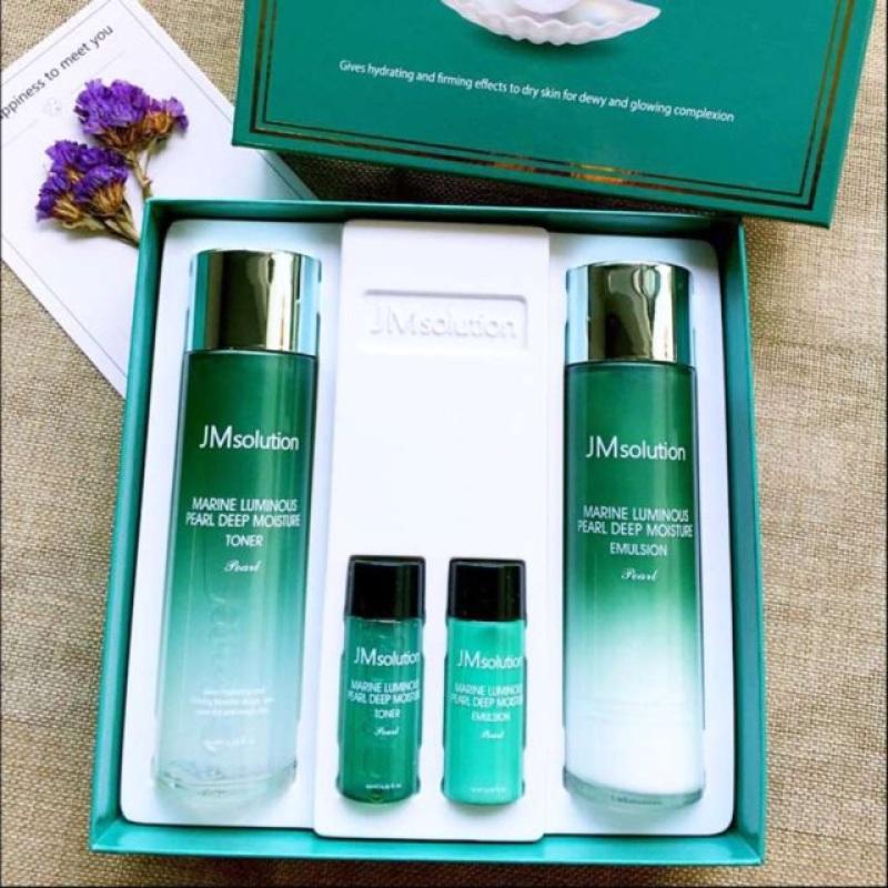Bộ dưỡng da JM Solution chiết xuất từ ngọc trai- Bộ dưỡng da hoàn hảo cho làn da của bạn