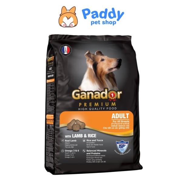[3kg] Ganador Adult Thức ăn hạt cho chó trưởng thành vị cừu & gạo